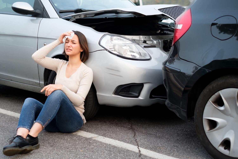 Poszkodowani w wypadku samochodowym